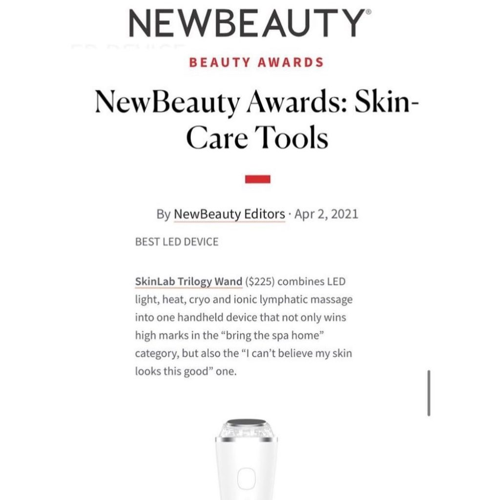 New Beauty Awards featuring Trilogy Wand